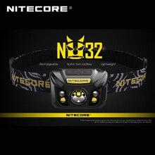 מכירה לוהטת Nitecore NU32 CREE XP G3 S3 LED 550 lumens גבוה ביצועים נטענת פנס מובנה ליתיום סוללה