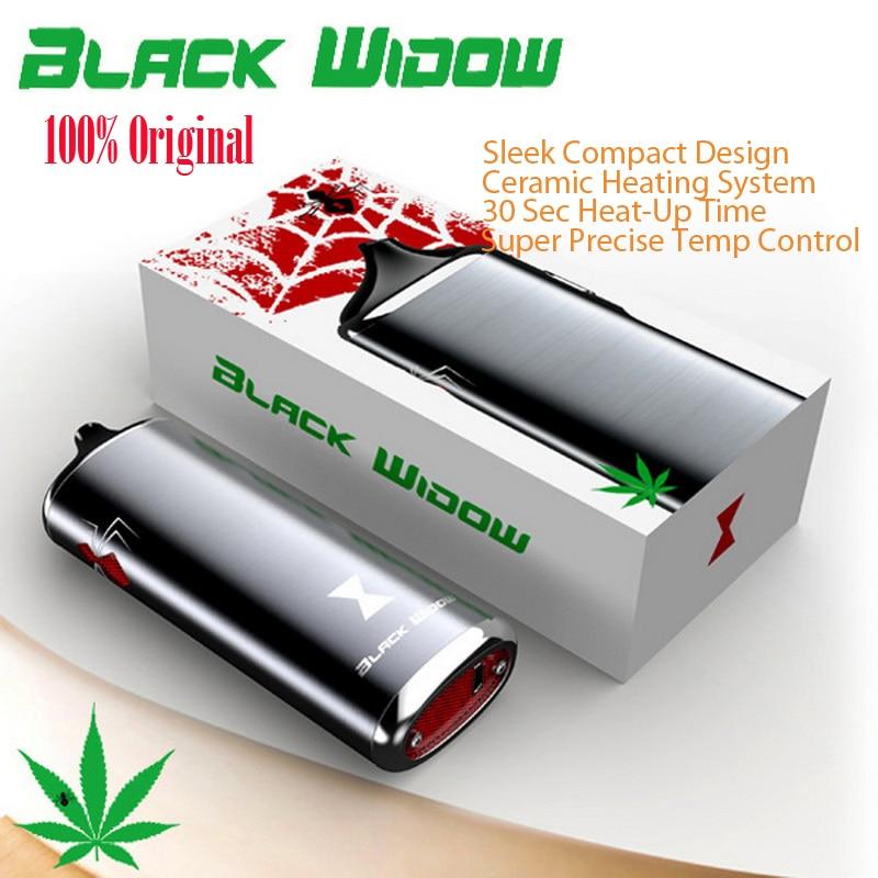 100% Original Black Widow dry herb mod box kit Kingtons 2200mah herbal vaporizer vape pen e cig cigarette nokiva black widow newest and hotest product e cig vapor mod god 180s with 220w box mod dry herb smy god 180s mod