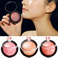 3 Colours Ladies Rouge Fashion Makeup Blush Blusher Powder Palette For Girls Women Maquiagem Cheek Use