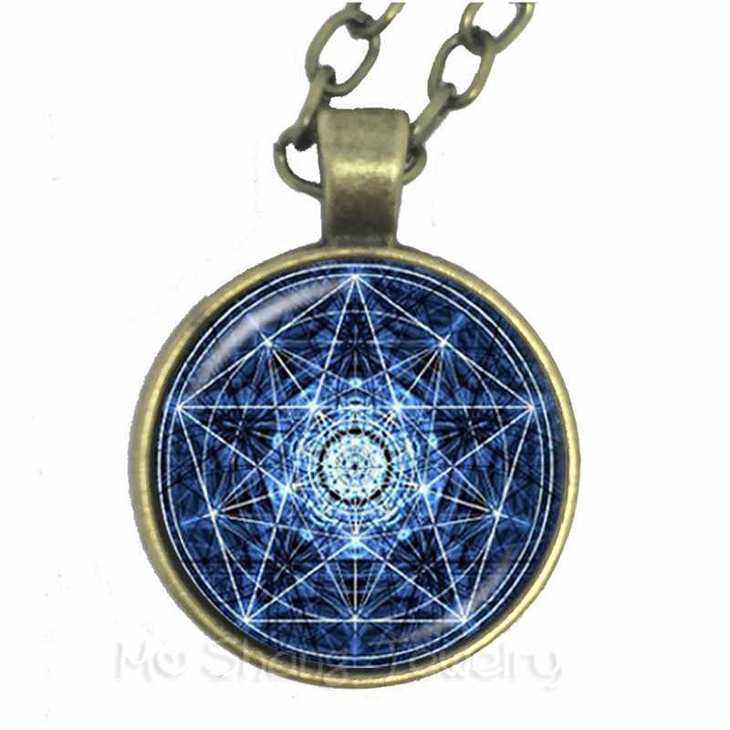 ซาตาน Baphomet Pentagram สร้อยคอ Gothic Satanism Evil ลึกลับเครื่องประดับ Pentacle Pagan Charm สำหรับเพื่อน