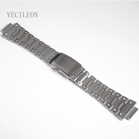 Watchbands Stainless Steel Watch Bands Watch Strap Watch Bracelet Fit For DW5600 DW5610 GMWB5000 GW5600 Series Dropshipping