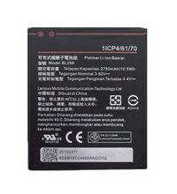 2750mAh BL259 BL 259 Battery For Lenovo K32C30 K32C36 lemon K3 K5 Vibe / Plus Bateria Accumulator