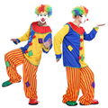 Free shipping Halloween circus clown patch exaggeration party magic show props party costume cosplay costume adult clown Patch