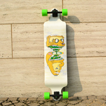 KOSTON pro Downhill longboard completes with 9ply canadian maple laminated 40 5inch drop down long skateboard