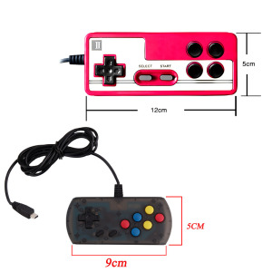 Image 5 - USB Wire Game Controller Andirod Gamepad for Q3 VS Mini USB Joystick for RS 80 Gamepad Handle for Handheld Game Console