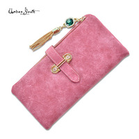 2017 Best Selling Women Leather Wallet Nubuck Fashion Wallets Coin Purse With Zip Card Holder Gorgeous