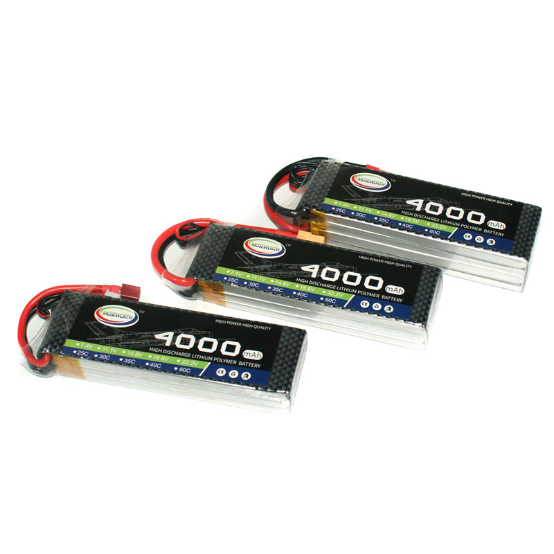 MOSEWORTH RC LiPo Battery 7.4V 4000mAh 30C 2S T/XT60 Plug for Airplane Helicopter Aircraft Quadrotor Drone Li-ion Cell Batteria kep rc lipo battery 22 2v 6000mah 6s 25c for rc aircraft helicopter quadrotor airplane drone car boat multirotor li ion battery
