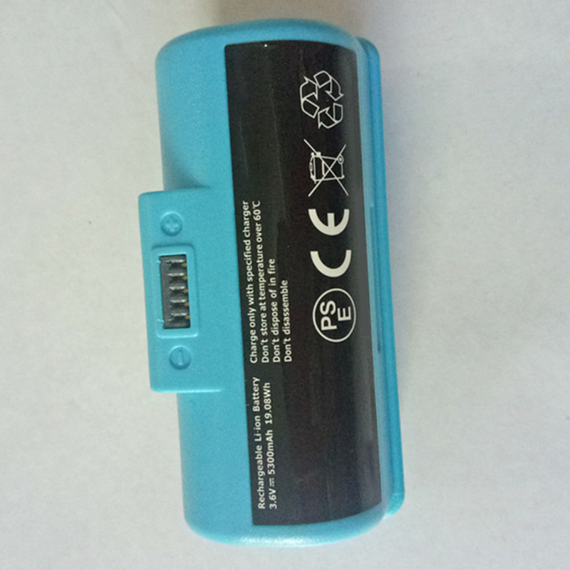 New Alternative Rechargeable 3 6V 5300Mah Li Ion Battery For Irobot Braava Jet240 Vacuum Cleaner Sweeper in Vacuum Cleaner Parts from Home Appliances