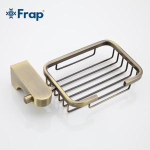 Image 5 - Frap estilo retro bronze acessórios do banheiro metal cesta saboneteira pratos saboneteira caso de sabão decoração para casa F1402 1