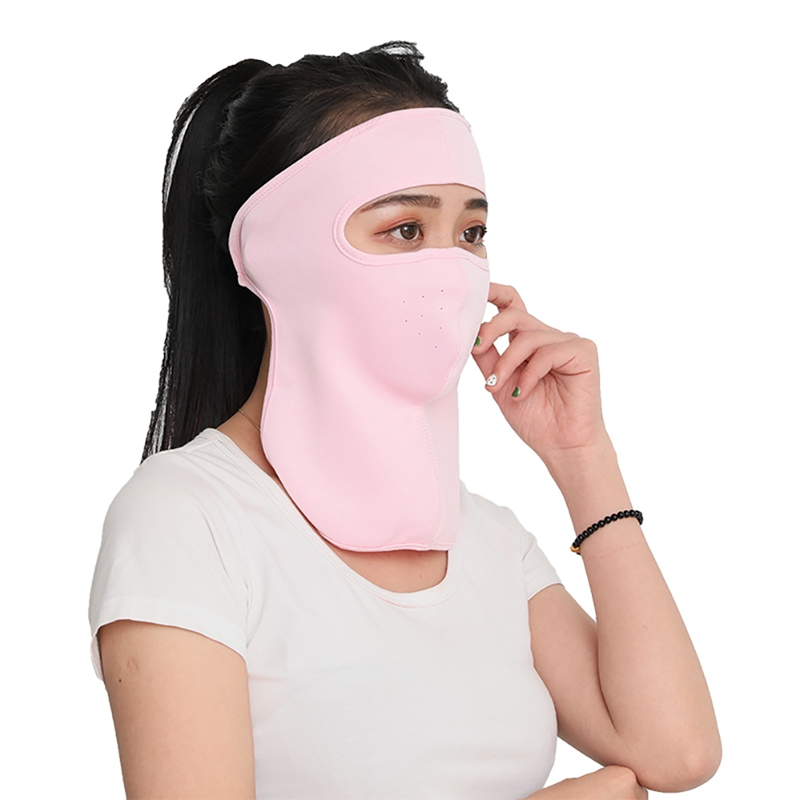 New Balaclava Hat Motorcycle Face Mask Men Outdoor Sports Windproof Dustproof Breathable Motorcycle Mask Scarf Women