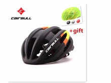 CAIRBULL road bike ring method integrated modeling riding helmet aerodynamics competition helmet