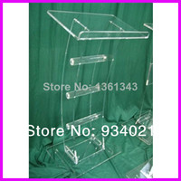 뜨거운 sellingacrylic 탁상 lectern/플렉시 유리 podiums