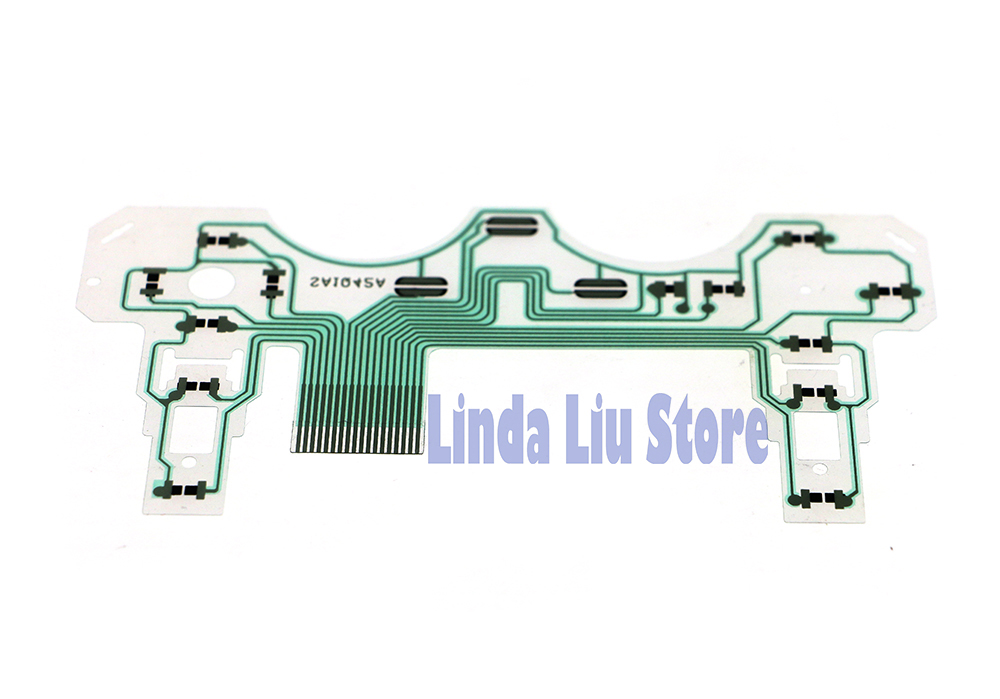 chengchengdianwan 120pcs lot controller repair parts pcb ribbonchengchengdianwan 120pcs lot controller repair parts pcb ribbon circuit board sa1q42a conductive film for ps2 oem controller in replacement parts
