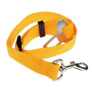 Image 4 - 1 pcs חיות מחמד רכב חגורת בטיחות אביזרי רכב חגורת בטיחות עופרת קליפ לחיות מחמד חתול כלב בטיחות חגורת בטיחות כרית כתף מנעול