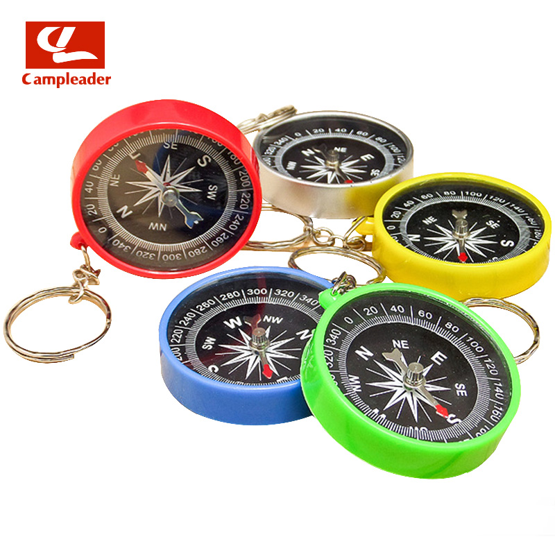 Plastic Pendant Compass Outdoor Camping Directional Cross-country Race Hiking Special Colorful Compass for Riding CL011 ...