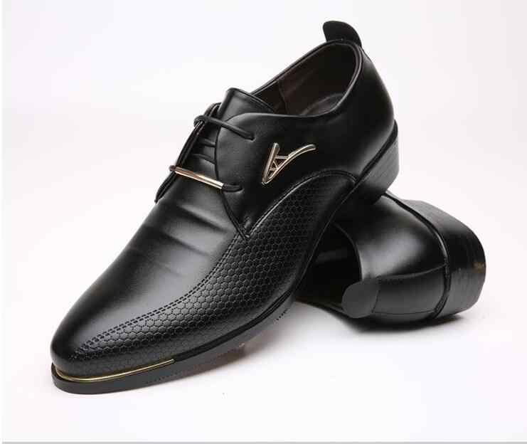 Элегантные мужские элегантные туфли; Роскошные брендовые свадебные туфли с острым носком; Мужские модельные туфли; zapatos elegantes hombre
