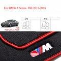 Prima de Nylon Sólido Inodoro Automático Piso Moqueta Mats Liner Para L/BMW 6 Series F06 RHD 2011-2018