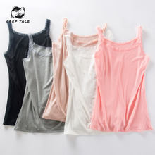 цена на CARP TALE Women 2019 Sexy Knitted Tank Tops Pink Thread Top Vest Summer Camisole Women White Tank Top Fitness Femme T shirt
