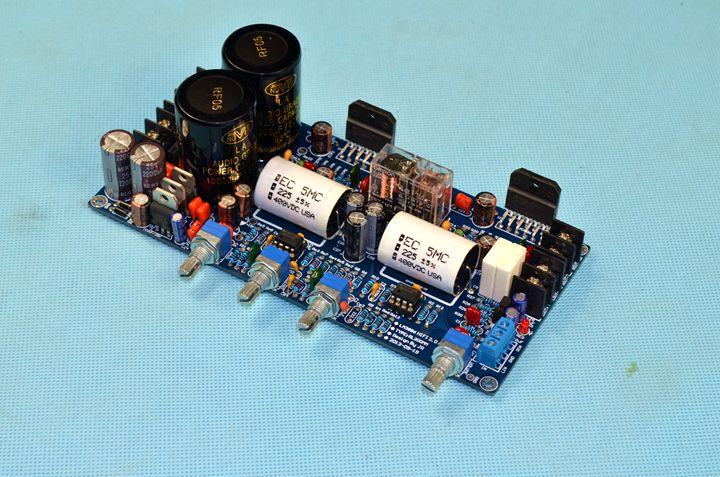 купить Preamp + NE5532 op amp incorporates LM3886 protection circuit Stereo 2.0 fever HiFi amplifier board