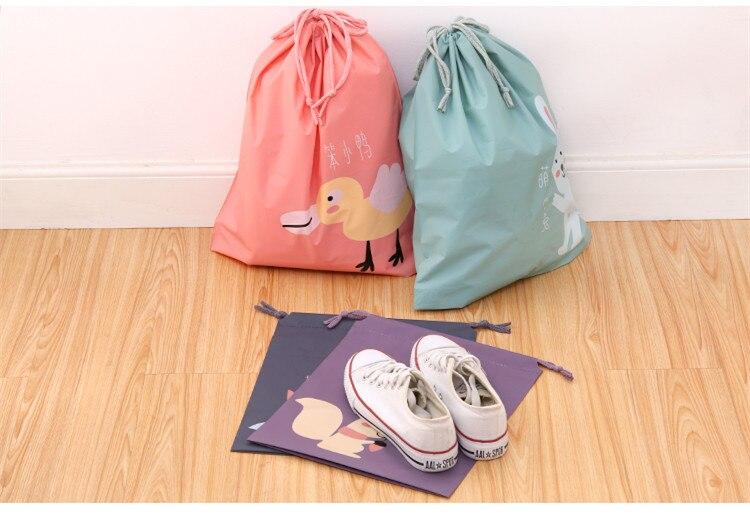 2 Stks Waterdichte Beam Bag Reisbagage Kleding Schoenen Ondergoed - Home opslag en organisatie - Foto 5