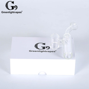 Image 5 - Greenlightvapes G9 שופר זכוכית מים מסנן צינור Bubbler מתאם קובץ מצורף 510 נייל/Henail בתוספת/TC יציאת