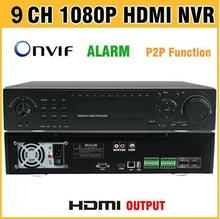 High Quality HDMI Output NVR 9ch 16ch 32ch 1080P Onvif H.264 CCTV NVR 9 channel Recorder 16/32 Channel for IP Camera Security