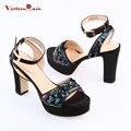 Sapato Feminino Hot Sale 2017 New Sale Fashion Party Dames Schoenen Womentop High Heel Sandals Women Shoes Italian Brand Heels
