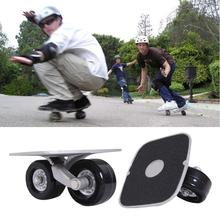 Drift Board Parts Skate Wheels with Bearings Driftboard For Roller Outdoor Sporting Skateboard hoverboard Anti-skid Portable