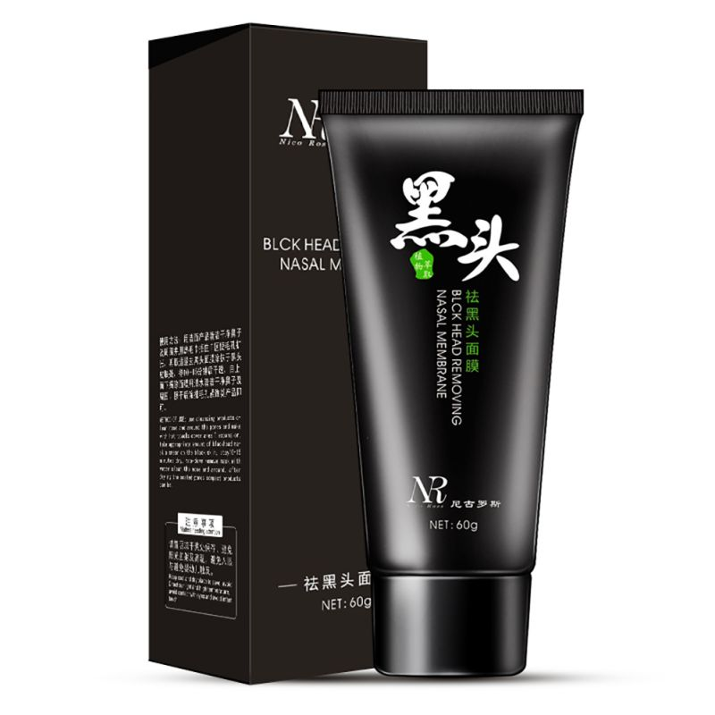 New Women Pro Makeups Black Mask Facial Nose Blackhead Remover Peeling Peel Off Black He ...
