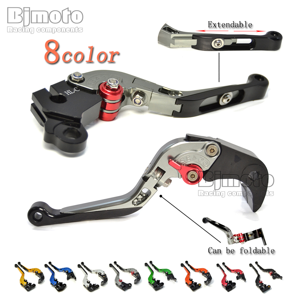 CNC Adjustable Foldable Extendable Motorcycle Brake Clutch Levers For Aprilia DORSODURO 750/900 TUONO V4 1100RR/Factory SHIVER cnc billet adjustable folding brake clutch levers for aprilia dorsoduro 750 factory shiver gt 750 07 14 08 09 10 11 12 2013