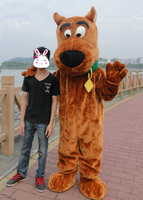 Hot Scooby Doo cosplay costumes Mascot Costume Scooby Doo Clothing Dog Mascot Costume Free Shipping
