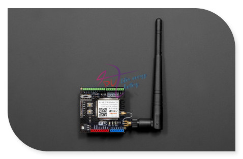 DFRobot WiFi Shield/Module V3 with RPSMA Interface, 5V 802.11b/g/n 2.4~2.497G 54Mbps support AP + STA dual-mode for Arduino etc