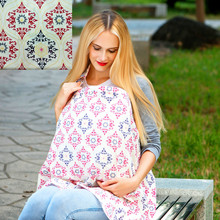 Breastfeeding Cover Infant Baby Breathable Cotton Muslin Nursing Cloth Large Size Big Nursing Cover Feeding Cover