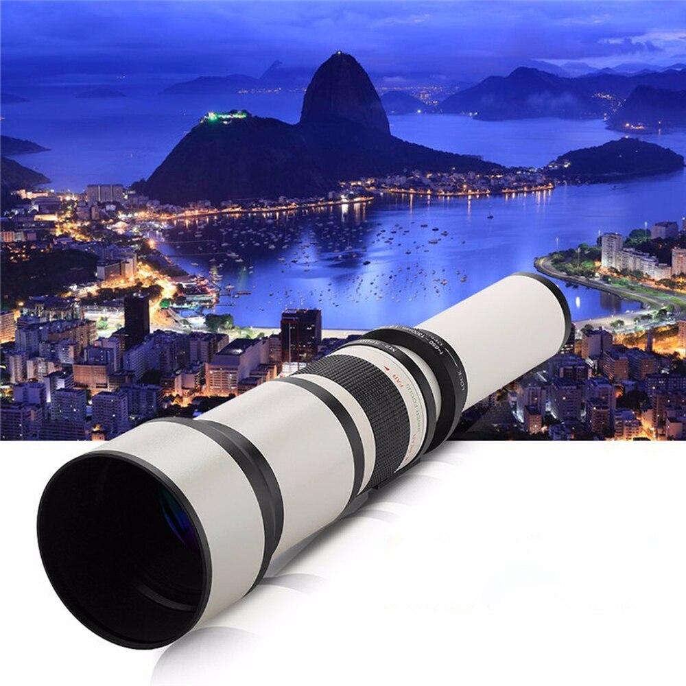 650-1300mm F8.0-16 Super Téléobjectif Zoom Manuel Lentille + T2 Adaptateur pour Nikon D3200 D3300 D5200 D5500 D7000 D7200 D800 D90 DSLR