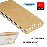 Ultra Thin Luxury PC Transparence Protection Case For Samsung Galaxy S7 Edge Phone Wallet Full Protective