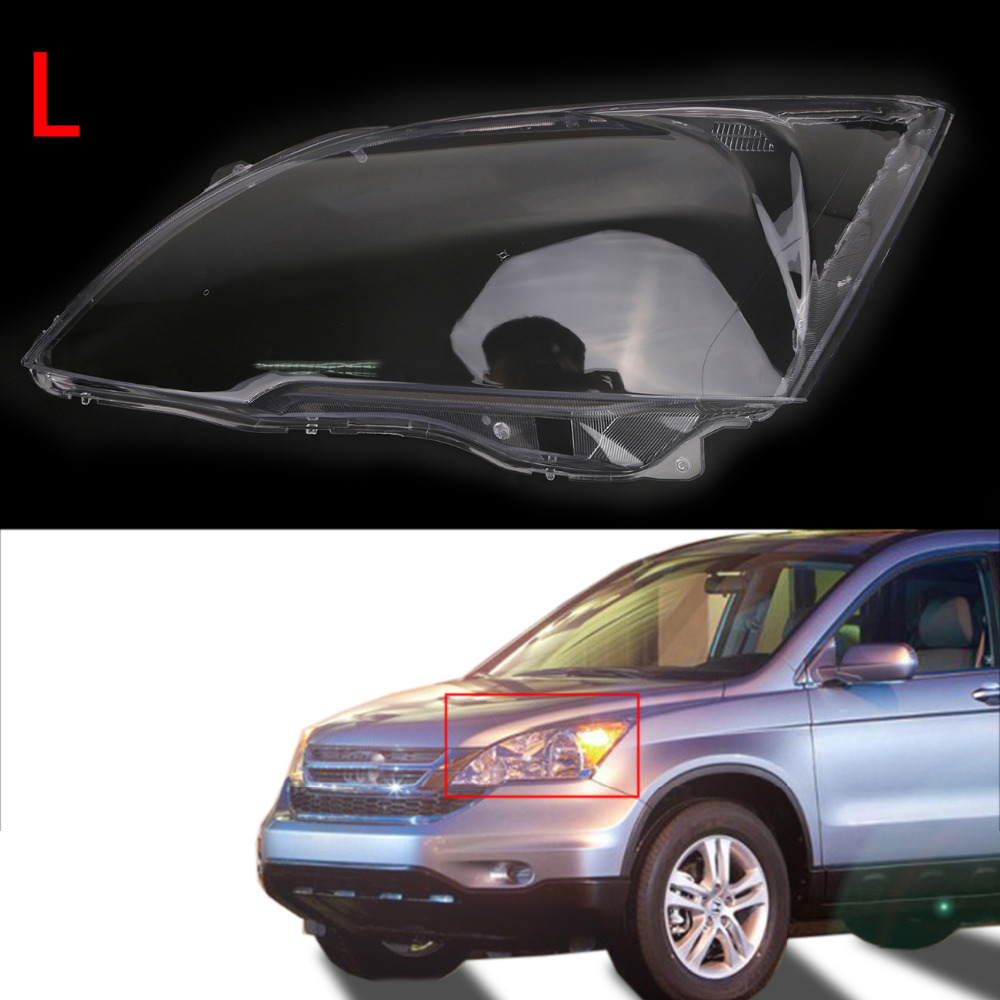 Lamp Hoods Automobiles & Motorcycles Left Side Clear Transparent Housing Headlight Lens Shell Cover Lamp Assembly For Honda Cr-v Ex Lx Models 2007-2011 N003-l Customers First