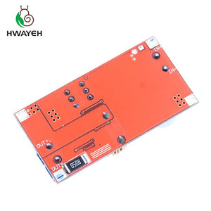 Image 5 - 1Pcs 5A Dc Naar Dc Cc Cv Lithium Batterij Step Down Opladen Board Led Power Converter Lithium Charger Stap down Module Hong