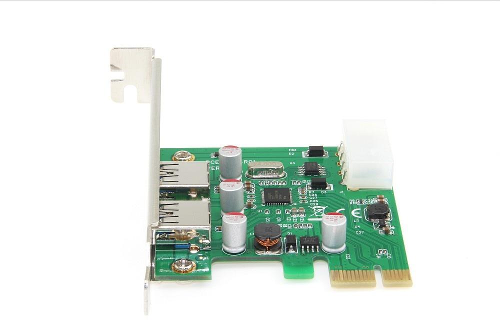 Pci-e Adaptador de cartao de Expansao pci e usb 3.0 post Adicionar em Cartoes 2 portas 4 pinos da fonte de alimentacao com a NEC nec um330w