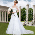 W501 Sheer Back A Line ELegant Bridal Gowns 2017 Plus Size Long Sleeve Vintage Muslim Lace Wedding Dress Vestidos De Noiva
