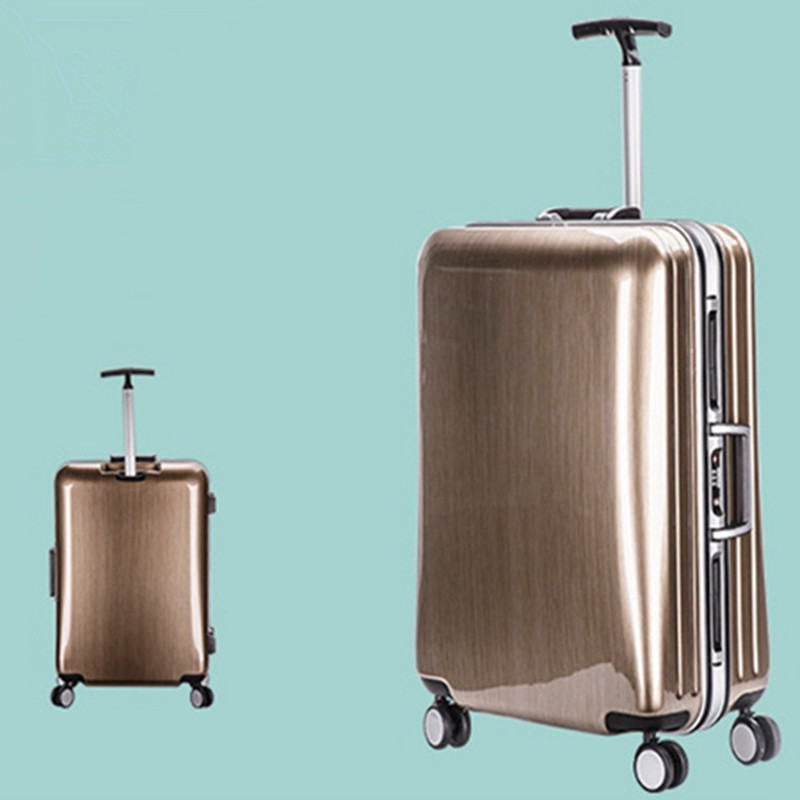 Business Travel Luggage Hardside Airplane Suitcase Spinner Wheels Carry On 20 24 Inch Rolling Trolley Luggage