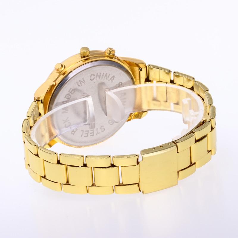 Reloj Mujer New Fashion Men Quartz Watch շքեղ բրենդ - Տղամարդկանց ժամացույցներ - Լուսանկար 4