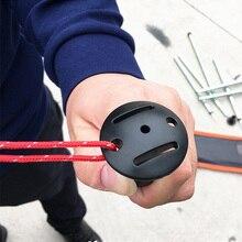 2 шт анти-прокол Пробка Крышка альпеншток поддержка бар защитный чехол анти-взрыв анти-прокол палатка полюс пластиковый шлем