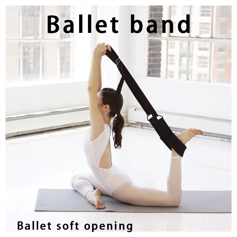 Sports & Entertainment Ballet Soft Opening Band Dance Training Tension Belt Strap Women Girls Stretching Ballet Band Yoga Resistance Bands Fitness & Body Building
