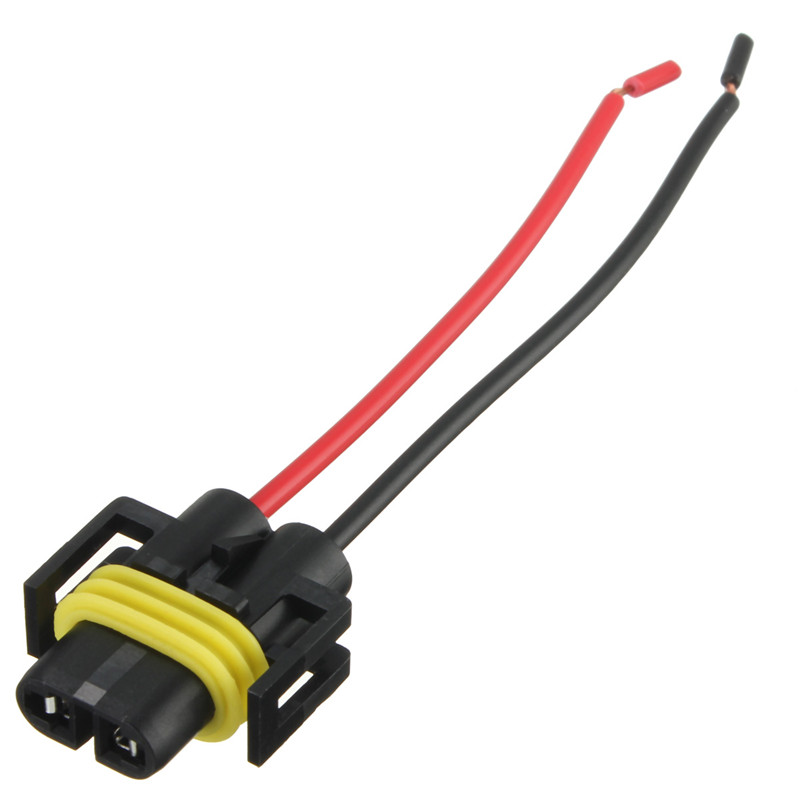 popular bulb light lamp harness plug connector buy cheap bulb h8 h11 female adapter wiring harness socket car auto wire connector cable plug for hid led