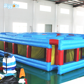 Juguetes Juegos Inflables Inflable Gigante Laberinto Venta Caliente