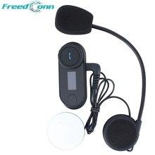 800 М Bluetooth Домофон с ЖК-Экран Fm-радио Гарнитура Шлем для Мотоциклов Лыжный Шлем Интерком 3 Всадники Бесплатная Доставка!