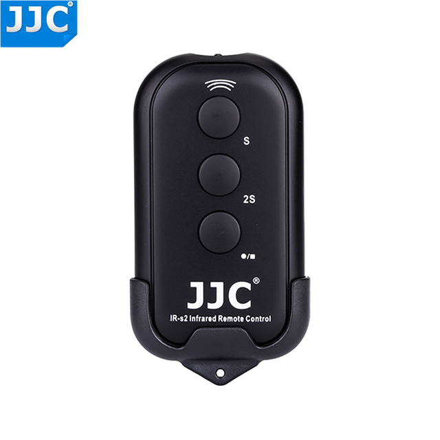 JJC IR אלחוטי עבור Sony NEX5 NEX 5N NEX 5R NEX 6 NEX 7 NEX 5T NEX 5C A7RII A7S A7II A6000 A77II A7 a7R IV A99