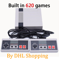 5 200pcs Mini Retro TV Handheld Video Game Console with 620 Classic Games buit in With Two/four Button Double Gamepads