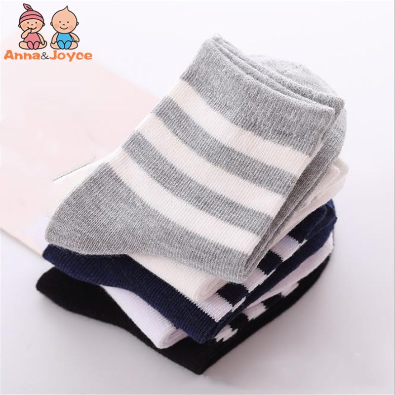 20pairs /lot Spring Autumn Children Socks Cotton Kids Socks Baby Socks Suit 1-10Y
