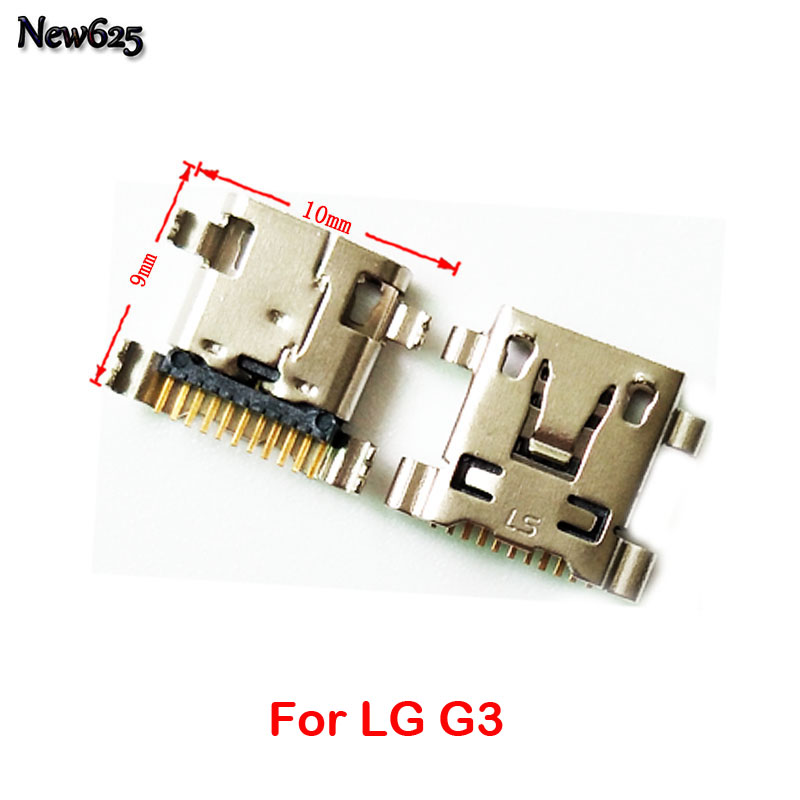 2 Pcs/Lot, Original New For LG G3 G4 G5 Micro USB Jack Charging Socket Connector Port Replacement